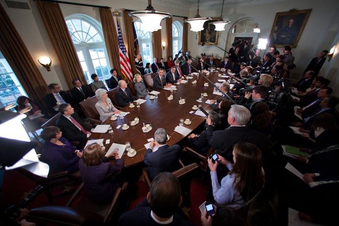 Presidential Kitchen Cabinet