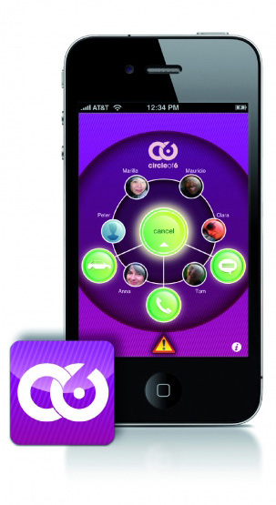 "Image of ""Circle of 6"" iPhone app"