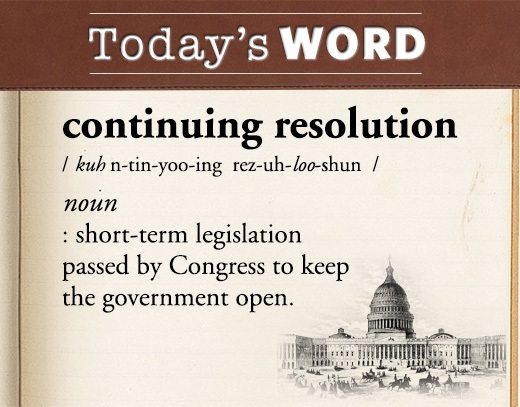 Image result for continuing resolution images