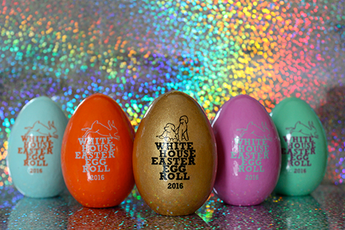 The 2015 White House Keepsake Easter Eggs