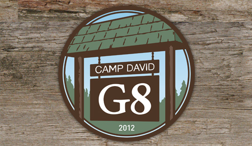 G8 Summit in Camp David, 2012 Logo