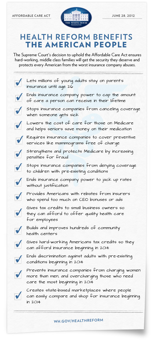 obamas health care reform Obama's health care reform seems on the surface a good idea affording healthcare insurance to millions uninsured americans along with mitigating the rising cost of healthcare however, this is a superficial solution to a complex problem.