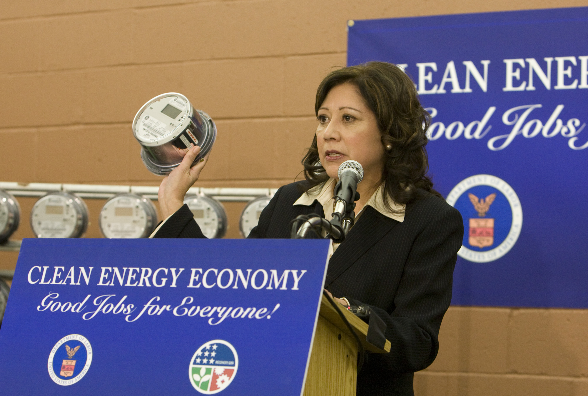 Secretary Solis in Nevada