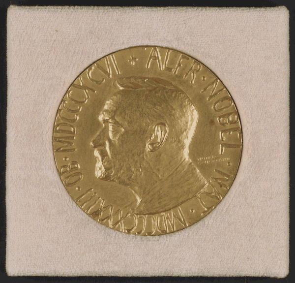 Woodrow Wilson's Nobel Peace Prize Medal