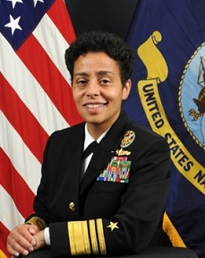 Official Photo, Vice Admiral Michelle Howard, Deputy CNO for Operations, Plans, and Strategy (U.S. Navy photo)