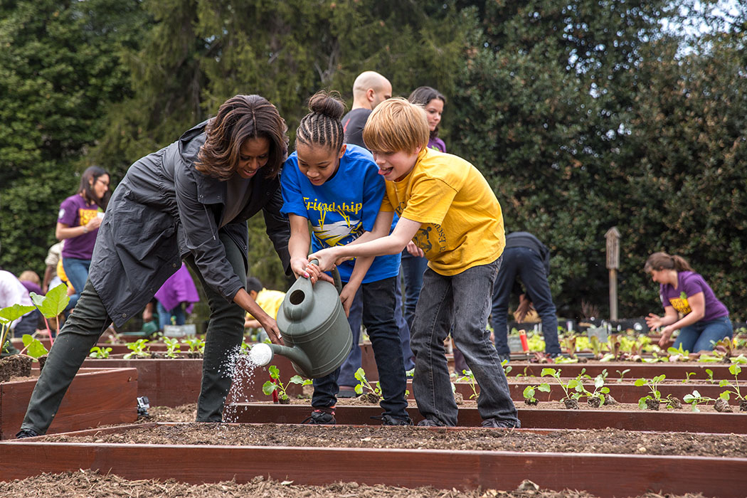 Spring Has Sprung The Sixth Annual White House Garden Planting