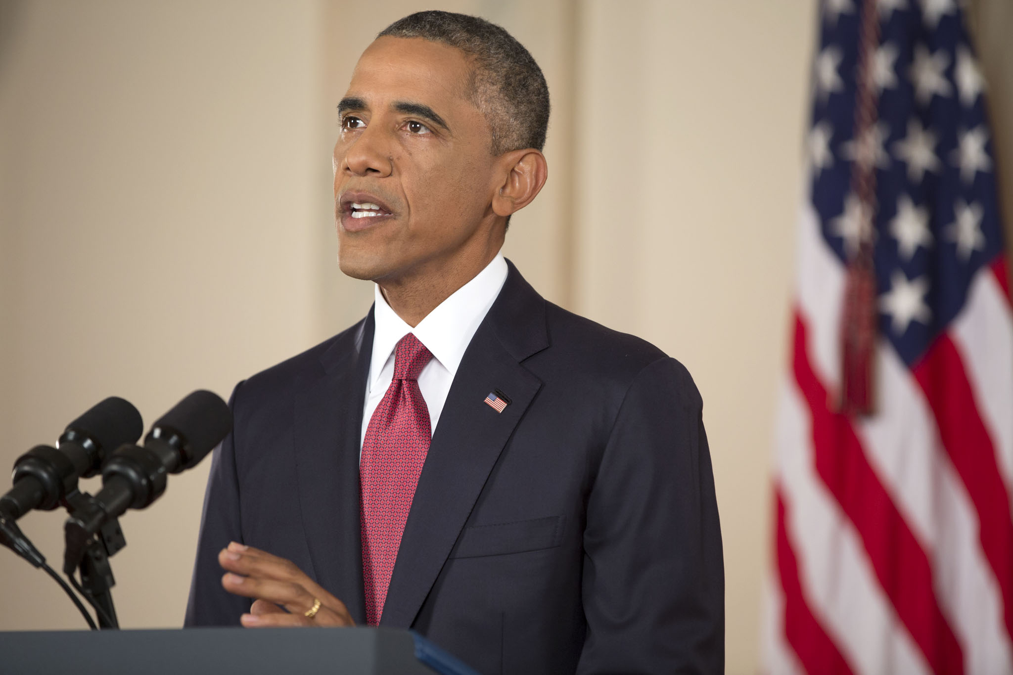 President Obama delivers an address to the nation on the U.S. Counterterrorism strategy to combat ISIL (2)