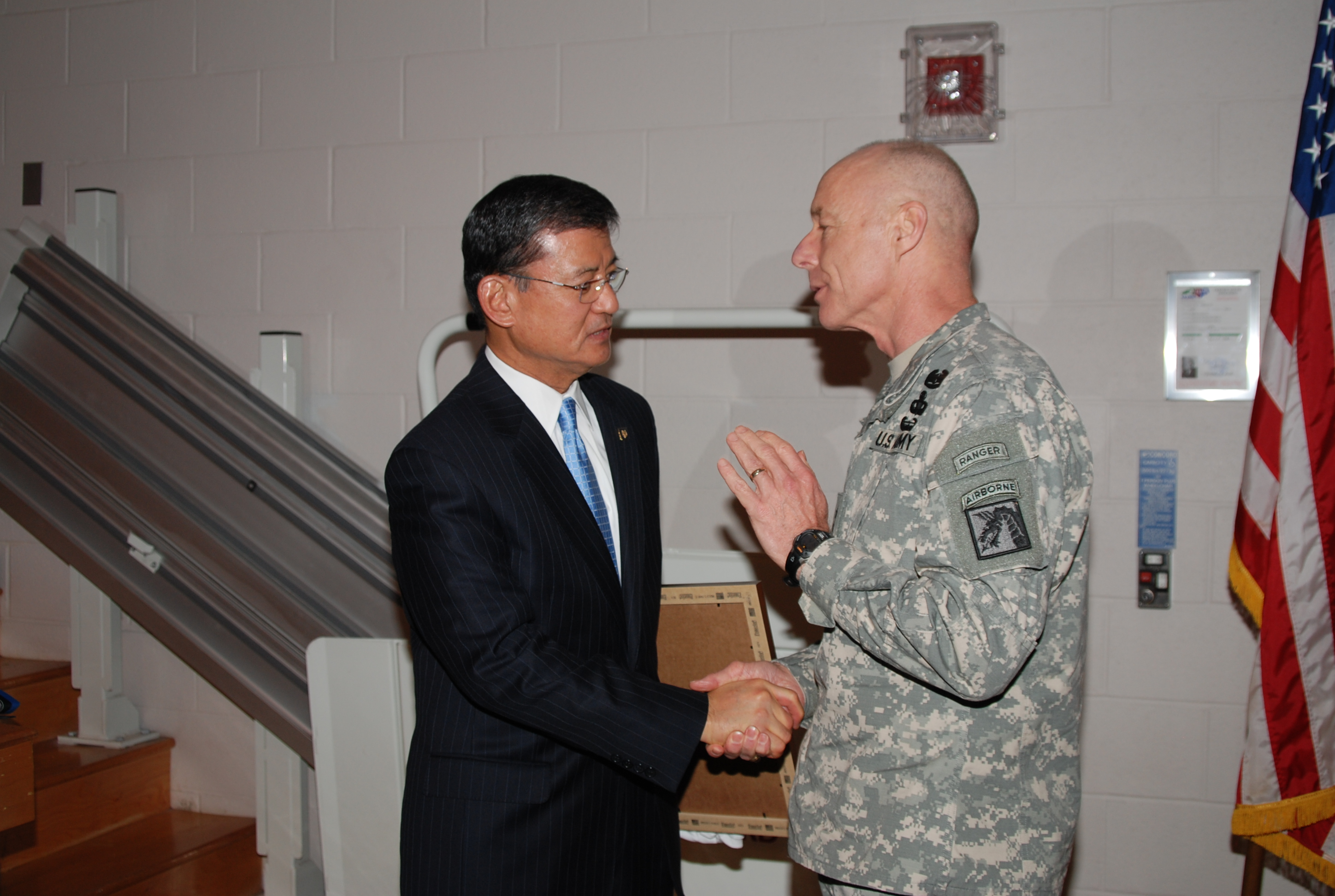 Secretary Shinseki Fatherhood General