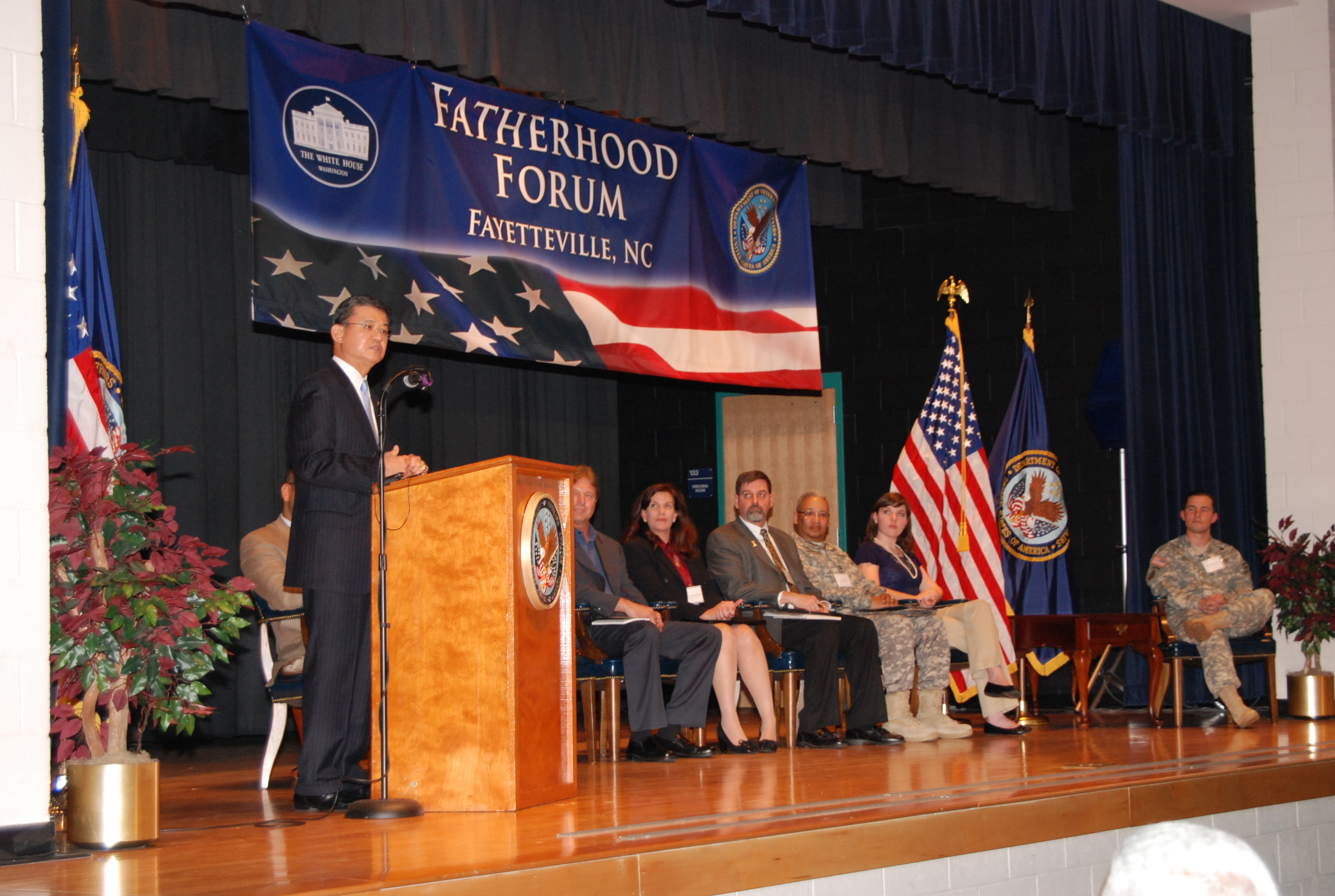 Secretary Shinseki Fatherhood Keynote