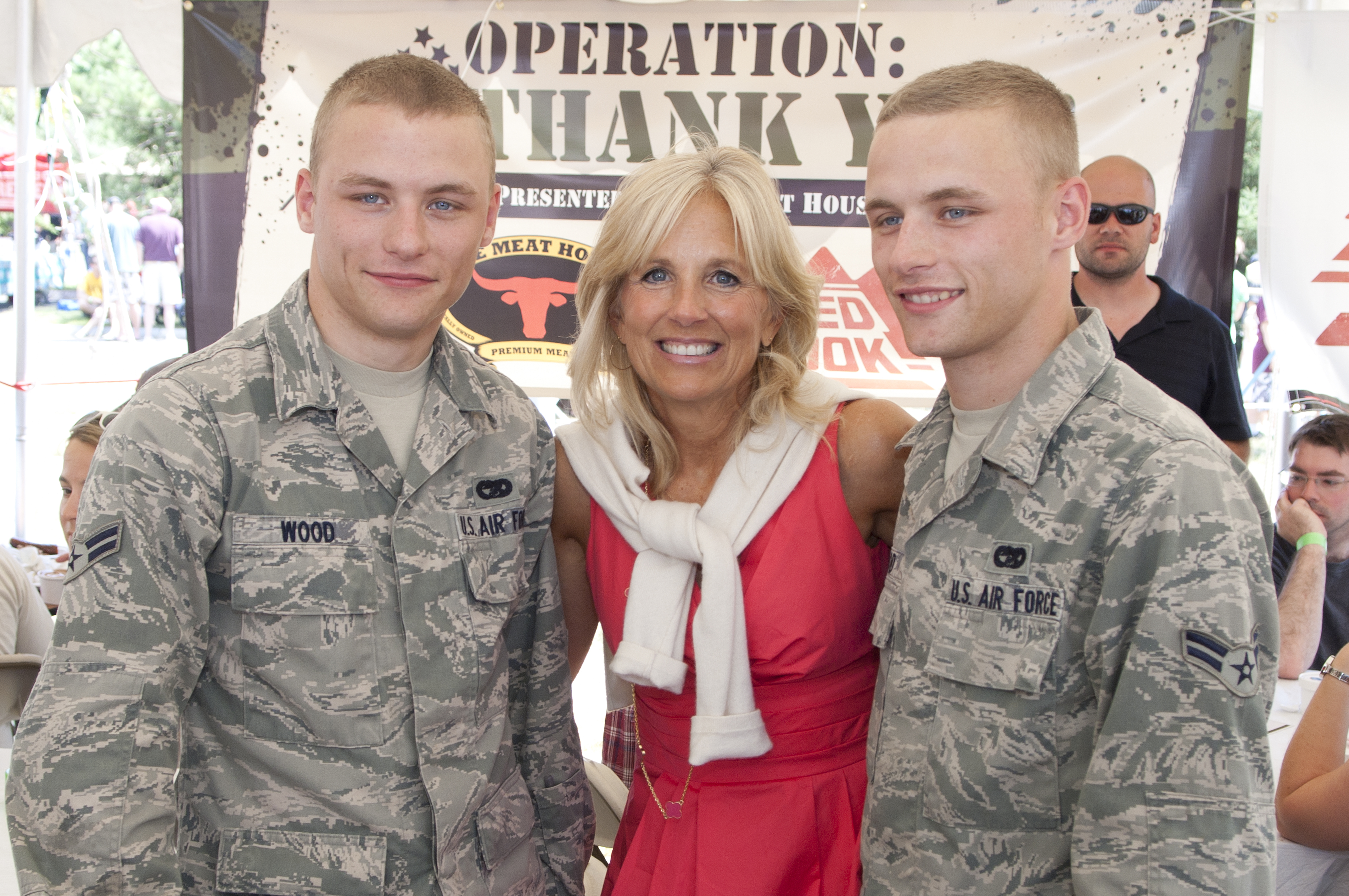 Dr Jill Biden Attends Operation Thank You!
