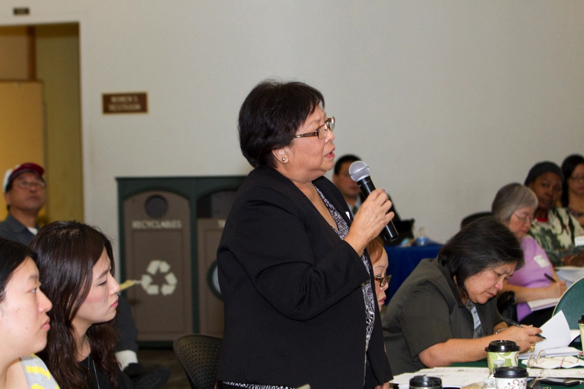 Community leaders participate in an all-day grant-writing training in Los Angeles, CA on November 5, 2014.