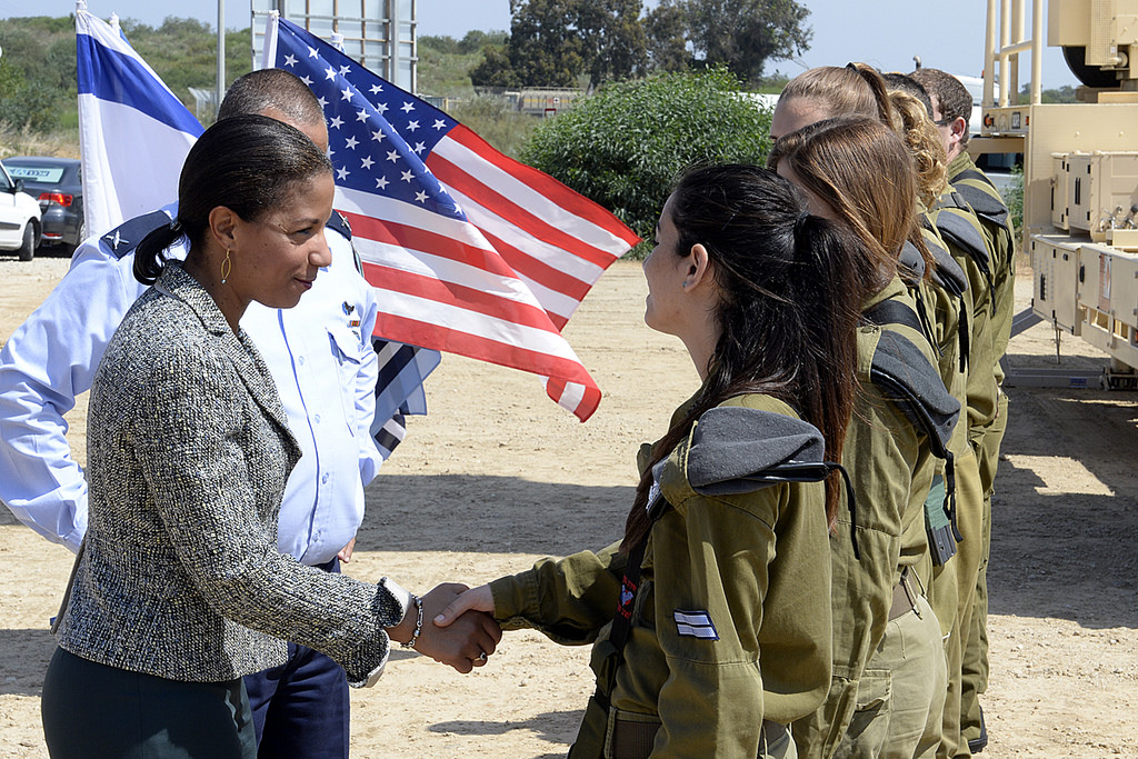 National Security Advisor Susan Rice in Israel