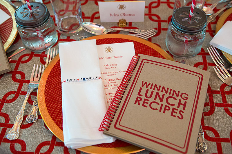 Epicurious Kids' State Dinner Place Setting