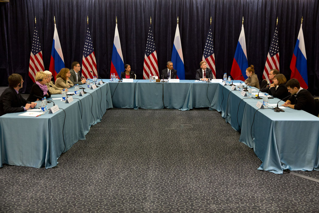 President Obama Meets With Members Of The Civil Society