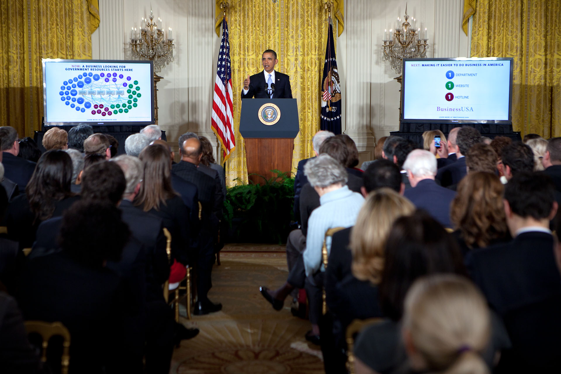 President Obama delivers remarks on government reorganization (20120113)