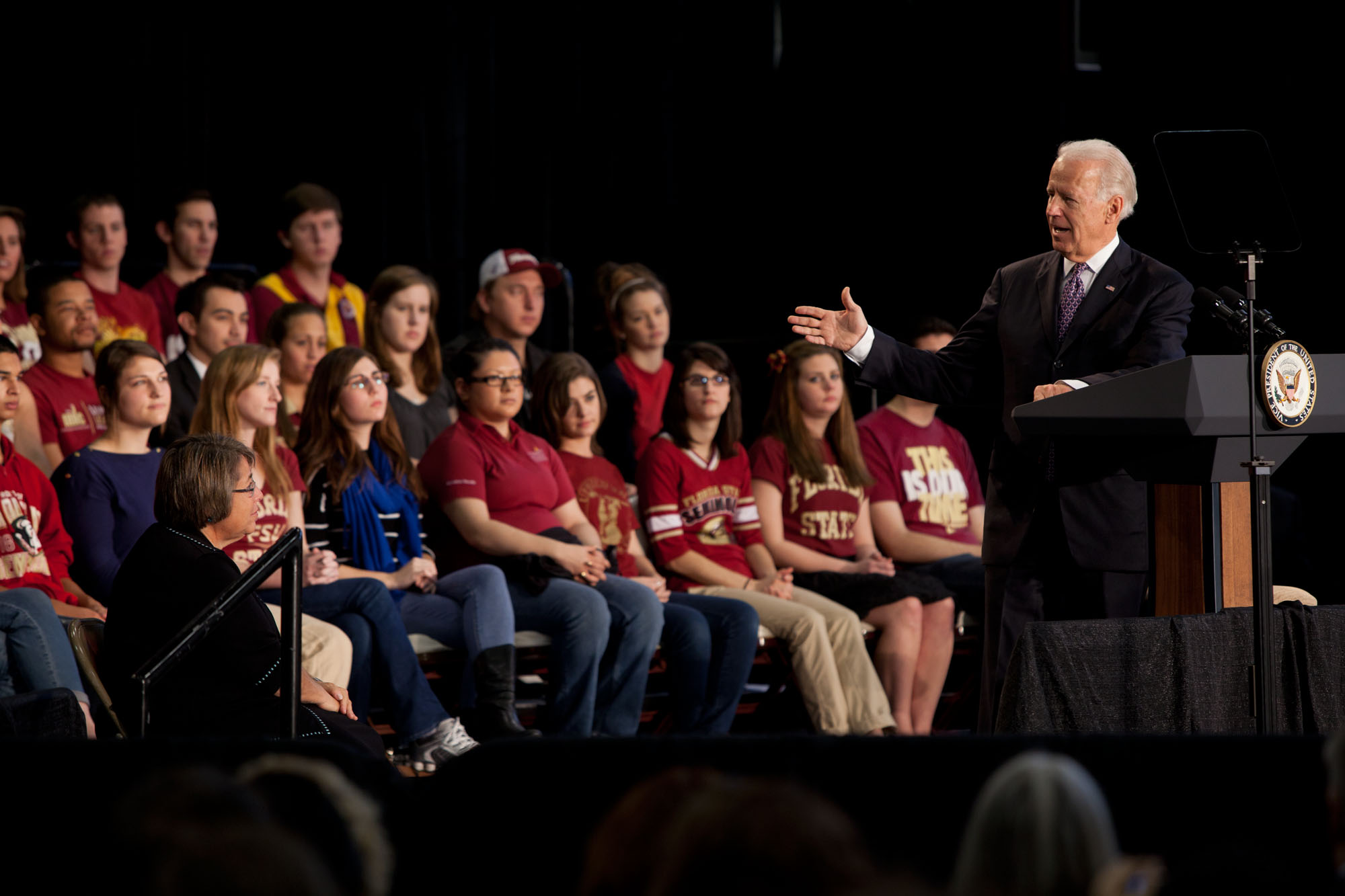 Vice President Joe Biden speaks to FSU students (February 8, 2012)