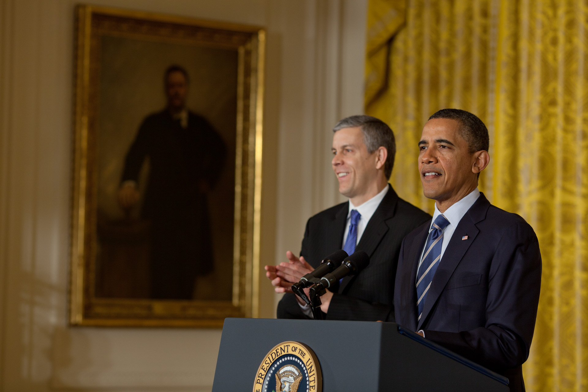 President Obama delivers remarks on No Child Left Behind (February 9, 2012)