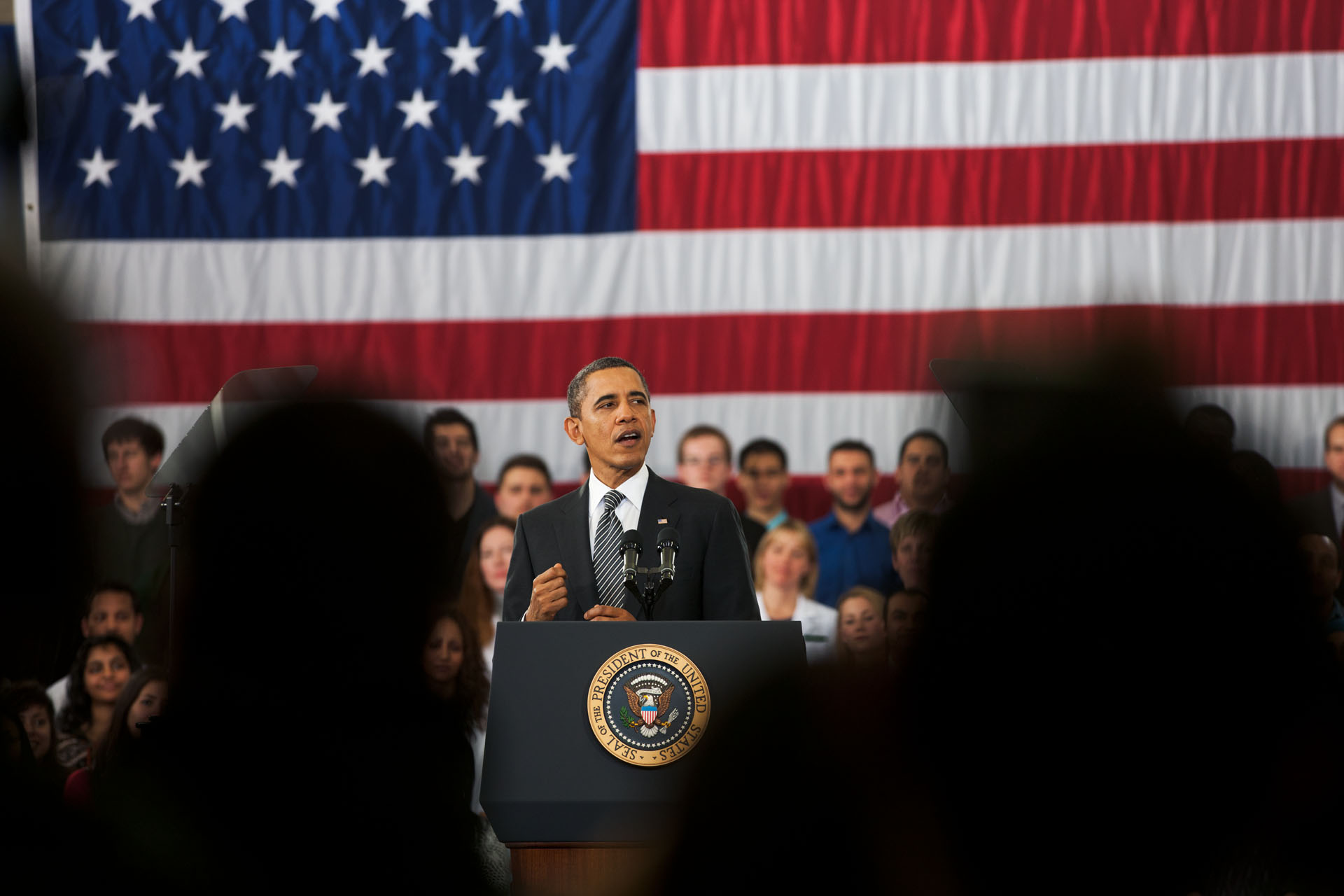 President Barack Obama delivers remarks on the FY 2013 Budget (February 13, 2012)