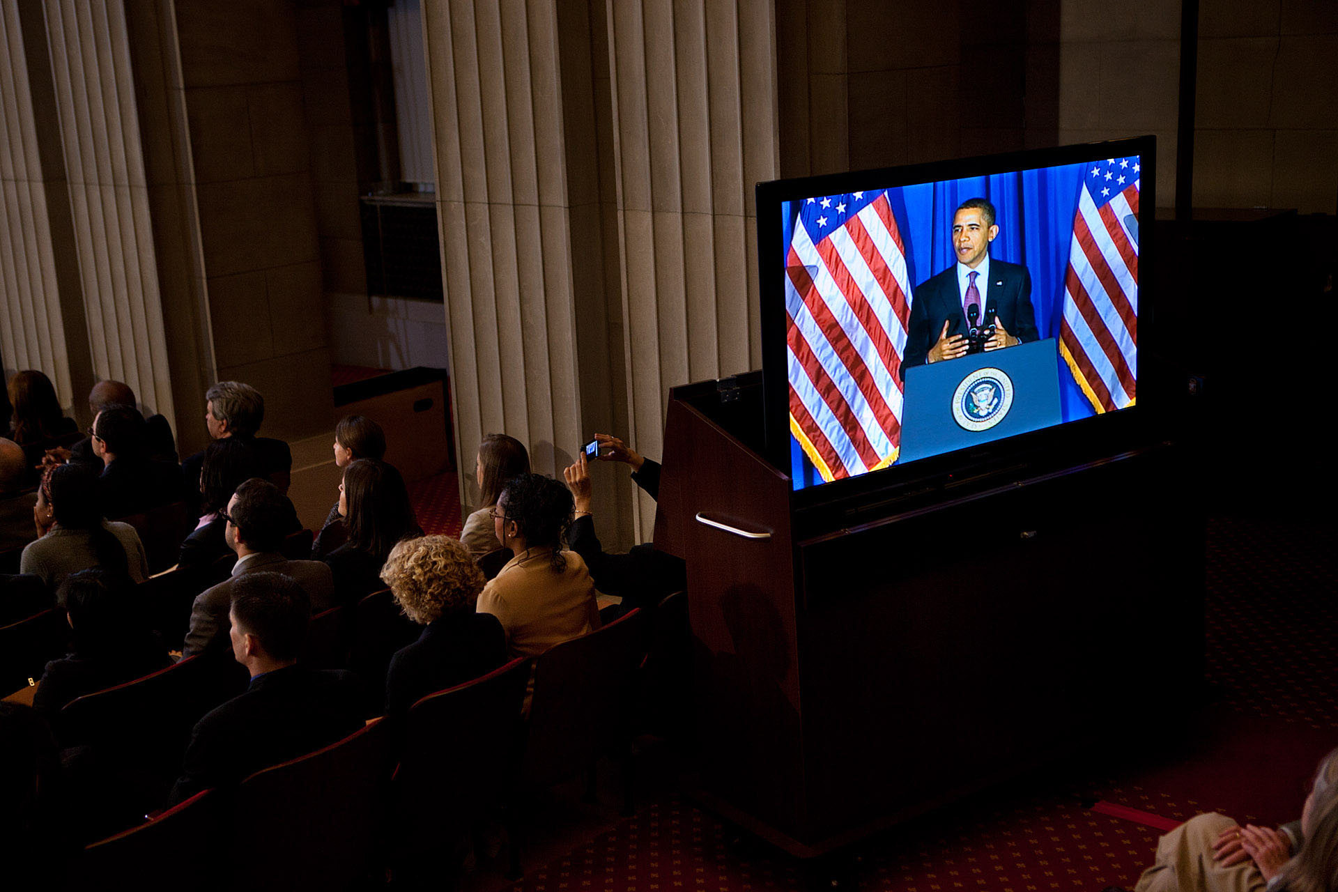 President Obama delivers remarks from a conservation conference (March 2, 2012)