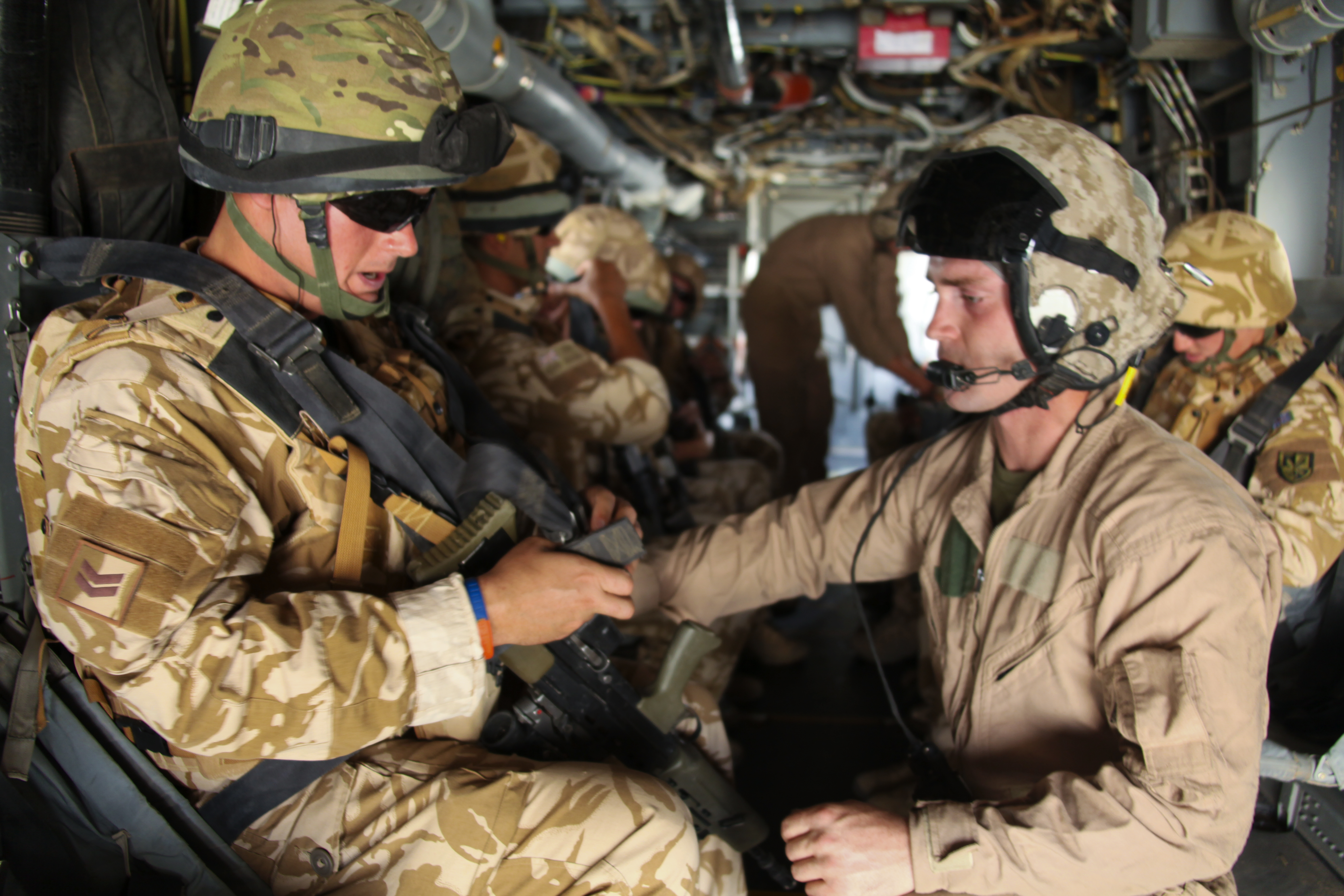 U.S., U.K. Aviation Partnership Thriving in Afghanistan (March 13, 2012)