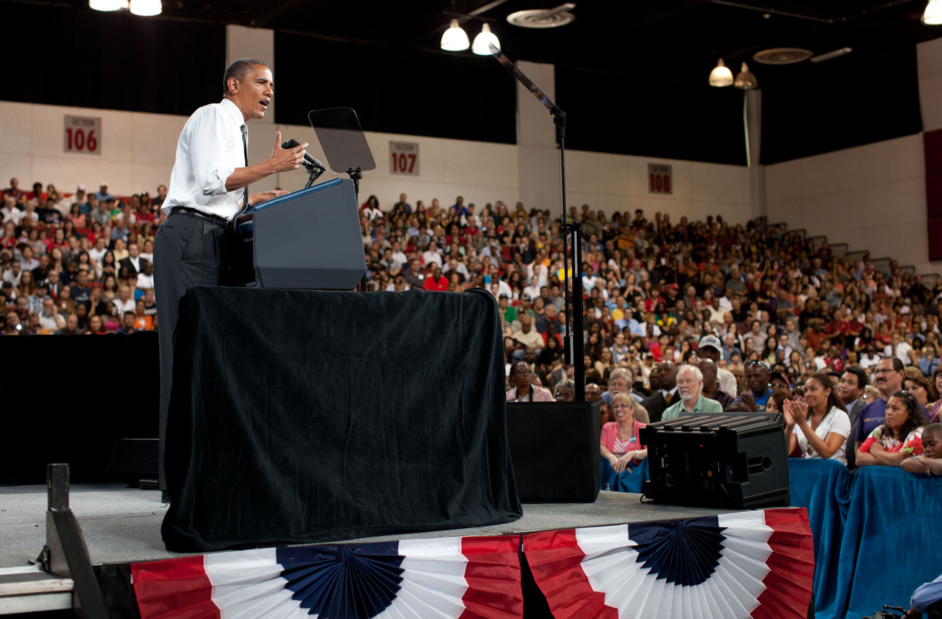 President Barack Obama delivers remarks on college affordability at UNLV (June 7, 2012)