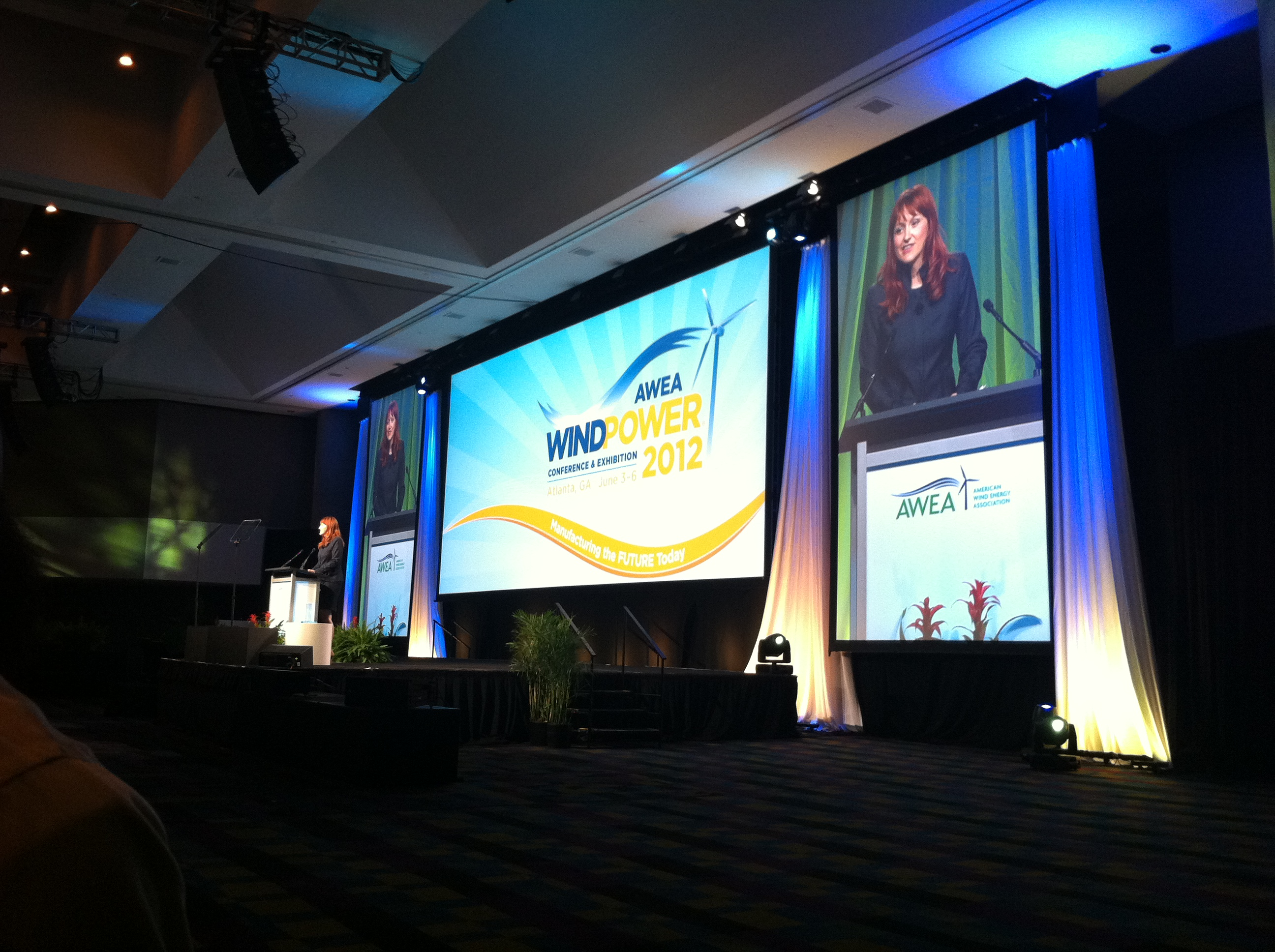Heather Zichal speaks at the WINDPOWER 2012 Conference and Exhibition (June 7, 2012)