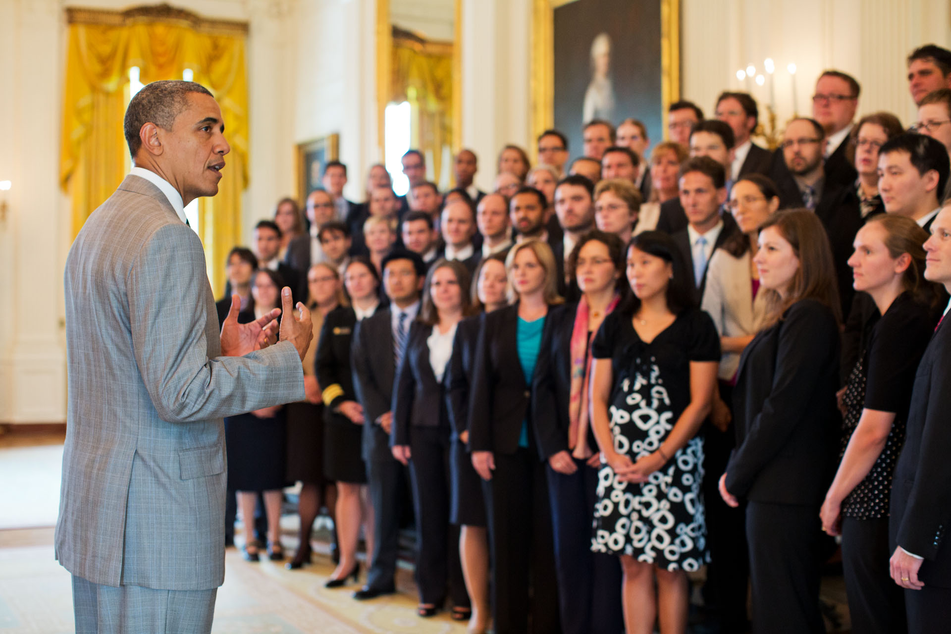 President Barack Obama addresses 2011 Presidential Early Career Awards for Scientists and Engineers recipients (July 31, 2012)