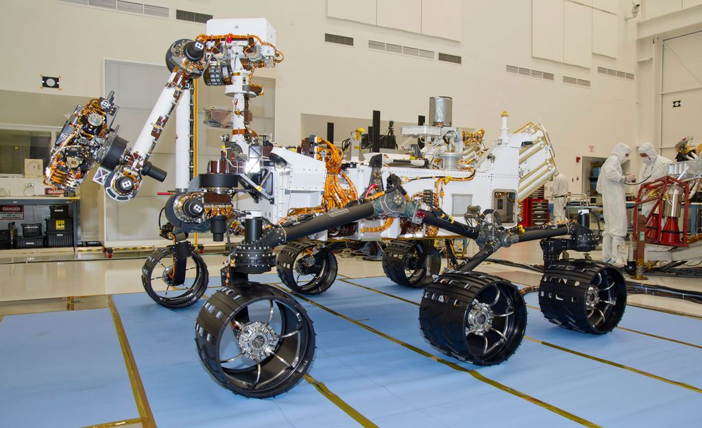 The NASA Mars Science Laboratory rover, Curiosity (June 3, 2011)