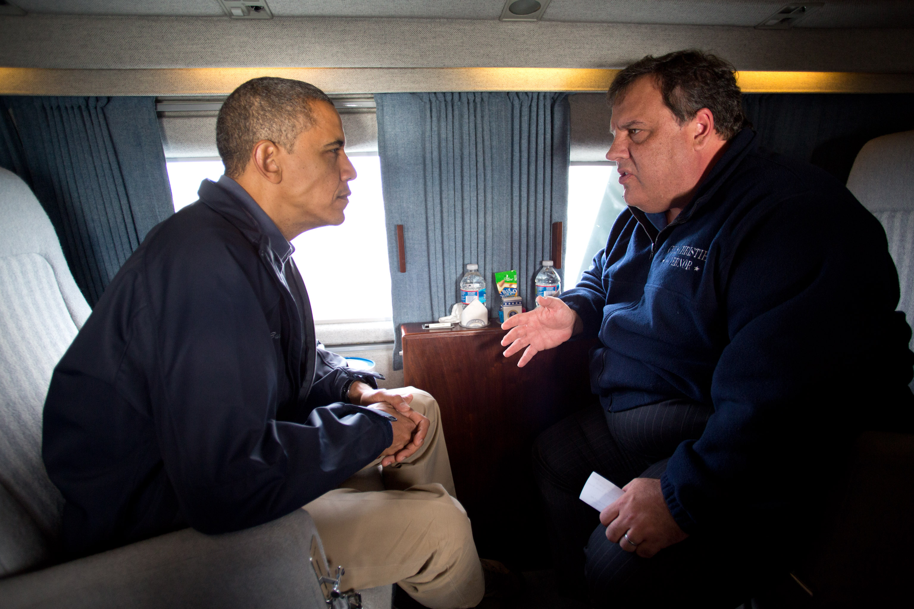 """President Obama in New Jersey: """"We Are Here for You ..."""