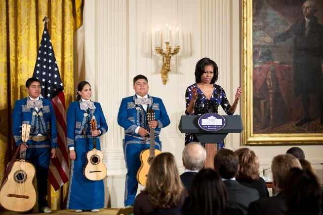 First Lady Michelle Obama hosts the PCAH National Arts and Humanities Youth Program Awards (November 19, 2012)