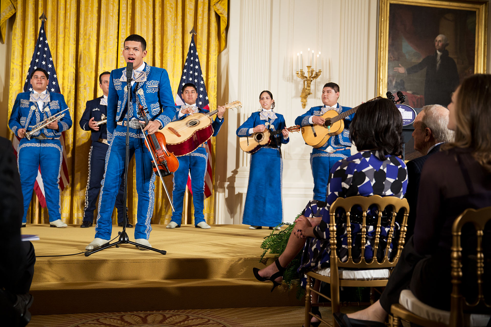 Mariachi Desoro performs during the the PCAH National Arts and Humanities Youth Program Awards (November 19, 2012)