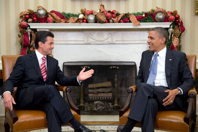 President Obama meets with President-elect Enrique Peña Nieto (November 27, 2012)