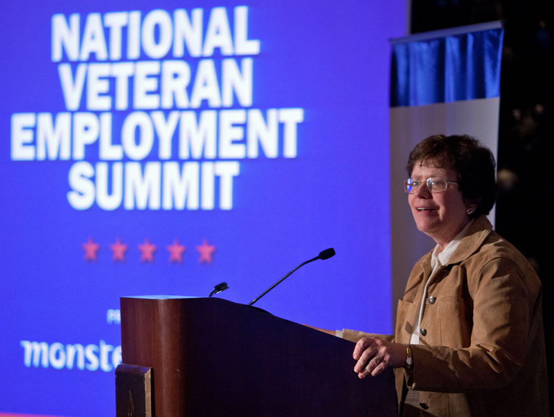 Acting Secretary Rebecca Blank Speaks at the National Veteran Employment Summit