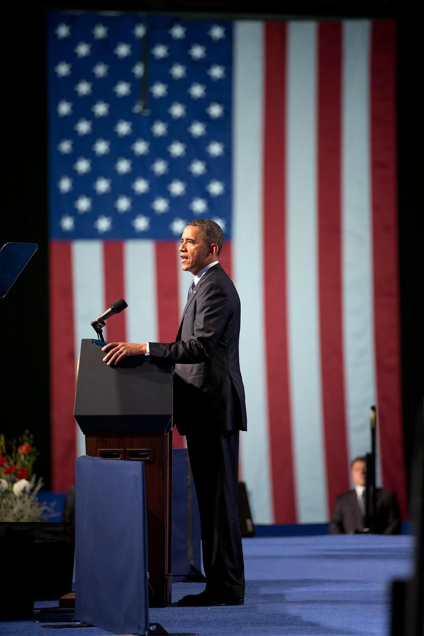 President Barack Obama delivers remarks at the 113th National Convention of the Veterans of Foreign Wars