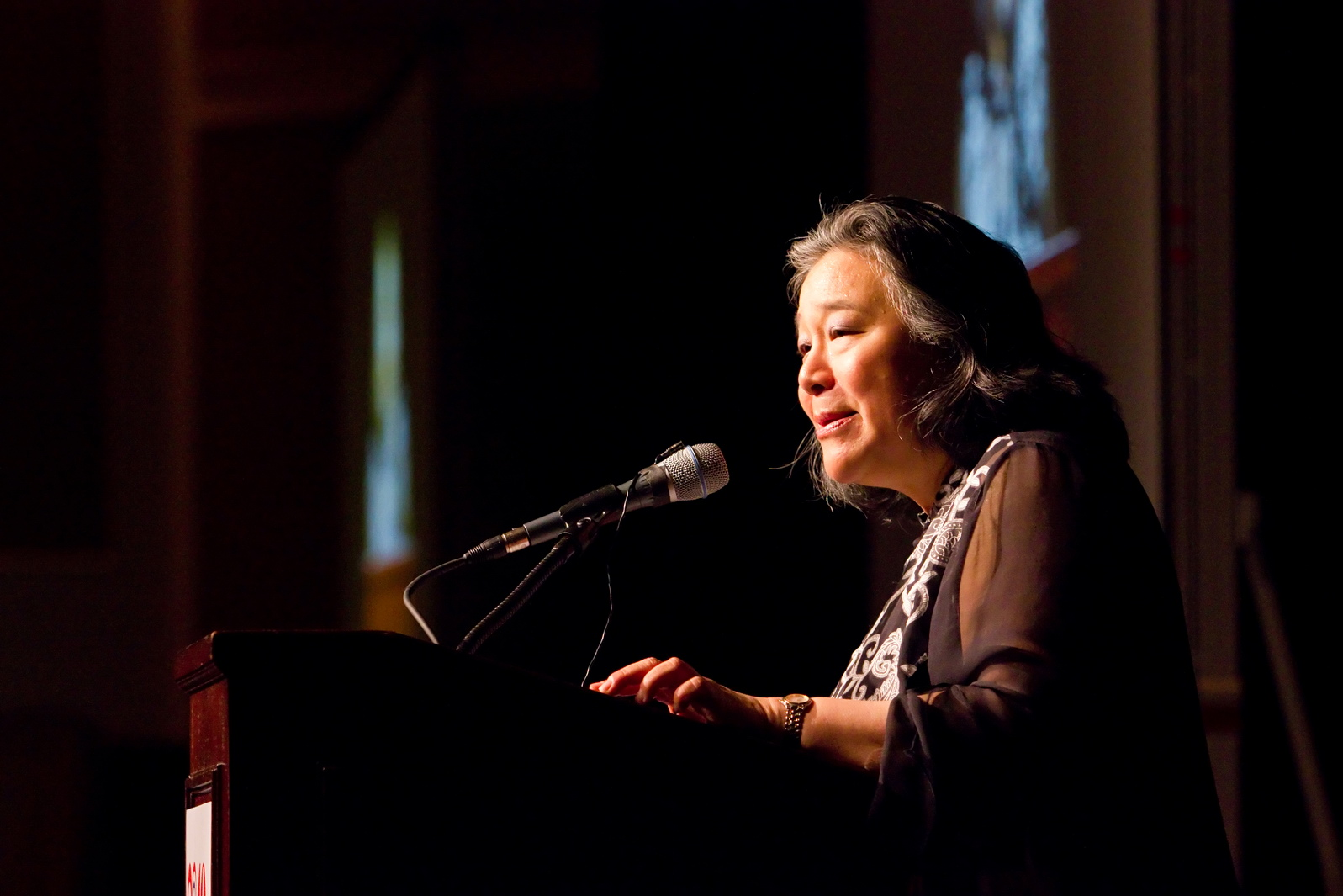 Tina Tchen delivers remarks at the OCA National 40th Anniversary National Convention