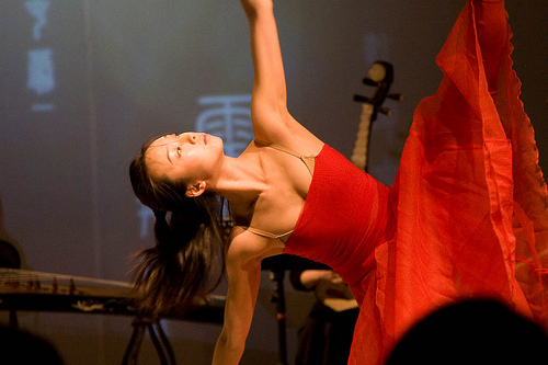 Dancer Performing in 'Changes'