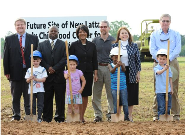 Latta Groundbreaking