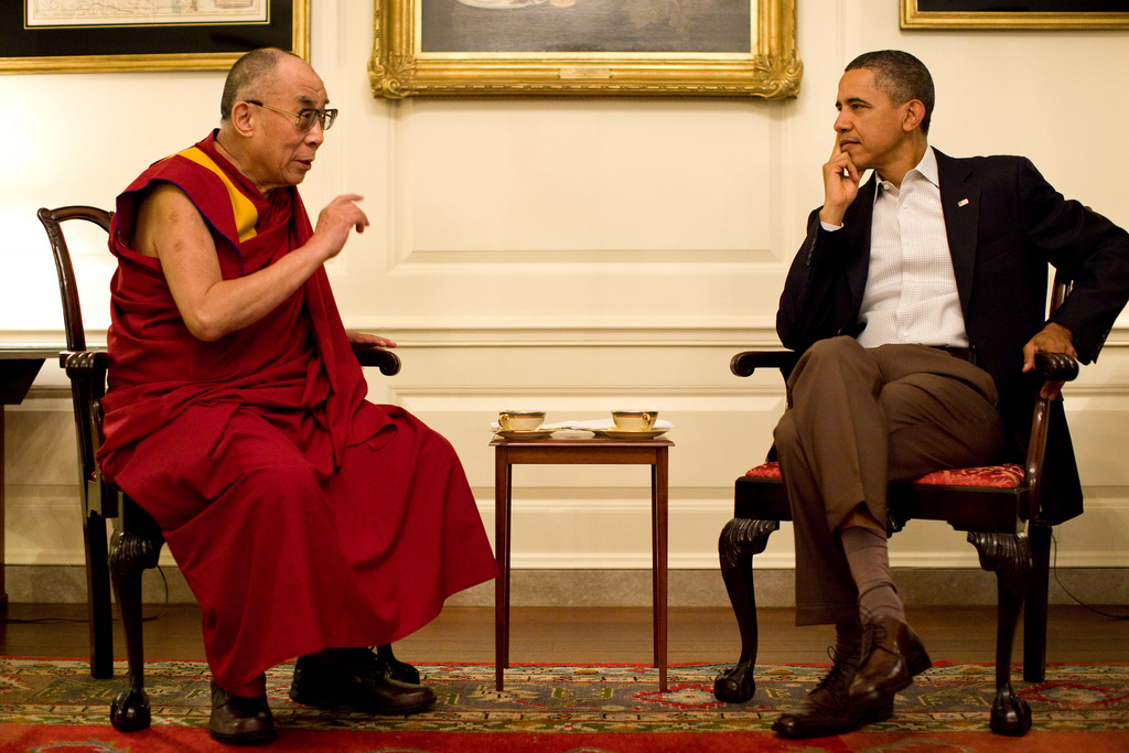 President Obama meets with His Holiness the XIV Dalai Lama
