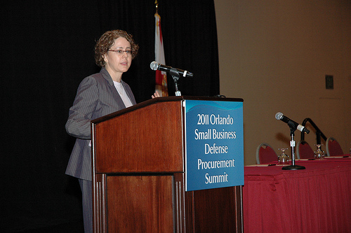 Cecilia Munoz addresses small business procurement summit in Orlando, Florida
