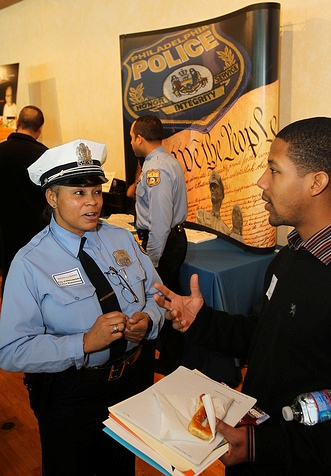 Hiring Our Heroes event at the Philadelphia Independence Seaport Museum