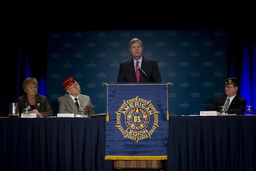 U.S. Secretary of Agriculture Tom Vilsack Speaks to the American Legion