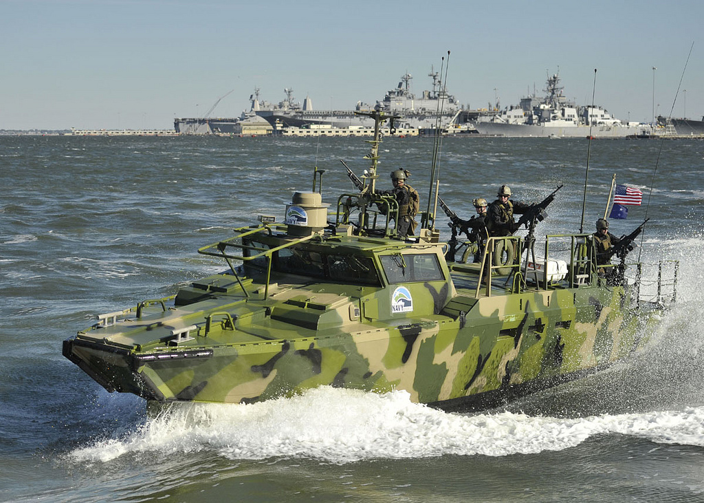 Navy's Riverine Command Boat
