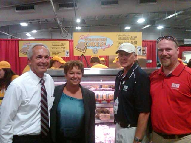 Administrator Jackson visits the Wisconsin State Fair