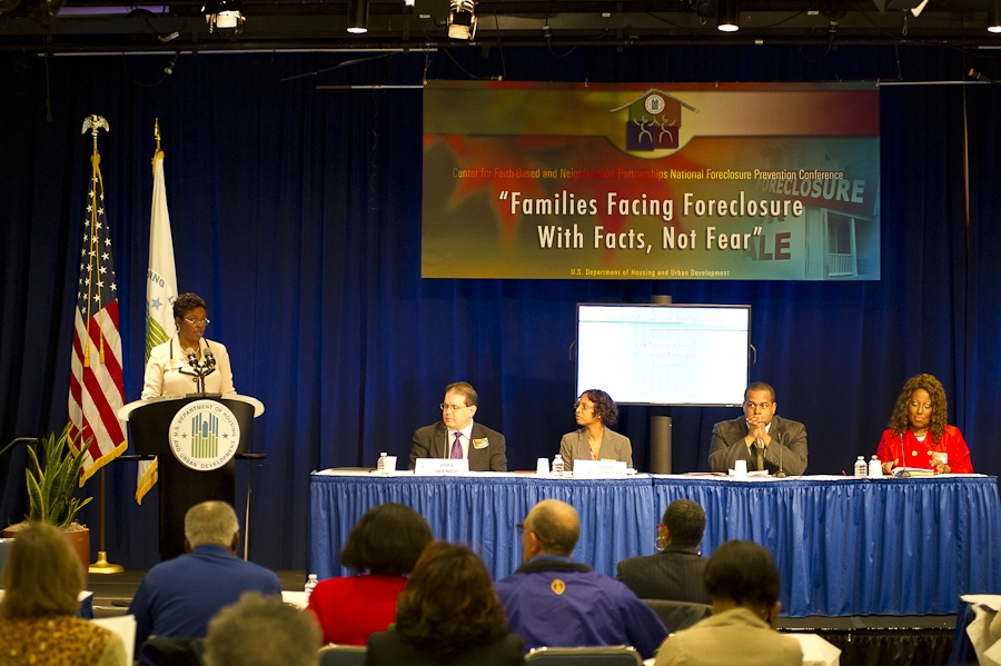HUD Conference: Families Facing Foreclosure with Facts, Not Fear