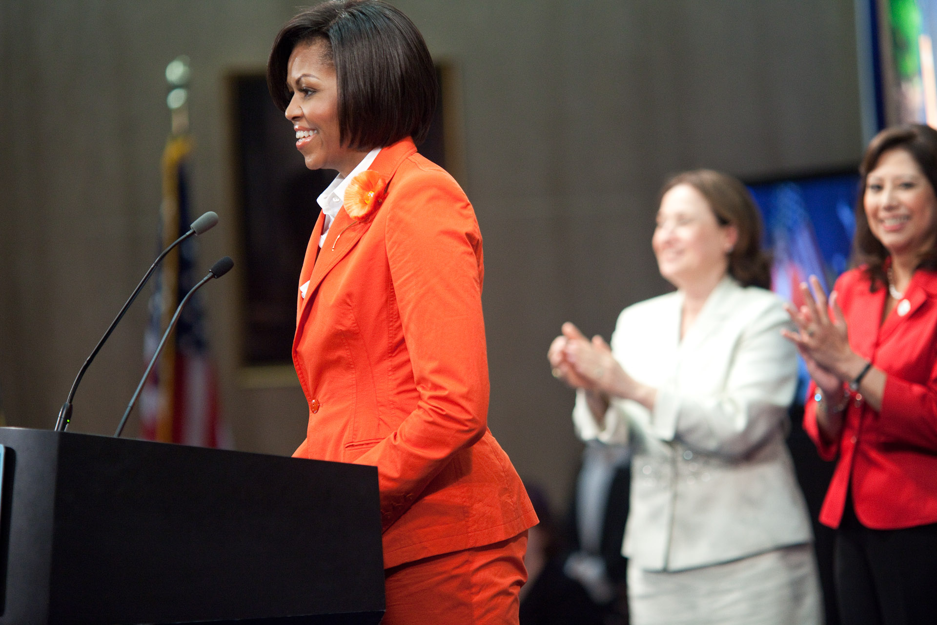 First Lady Michelle Obama Delivers Remarks in Honor of Women's Bureau's 90th Anniversary