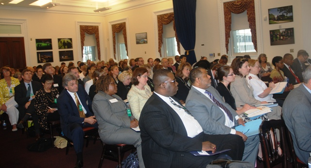 Attendees at White House Meeting on Partnerships to Fight Poverty