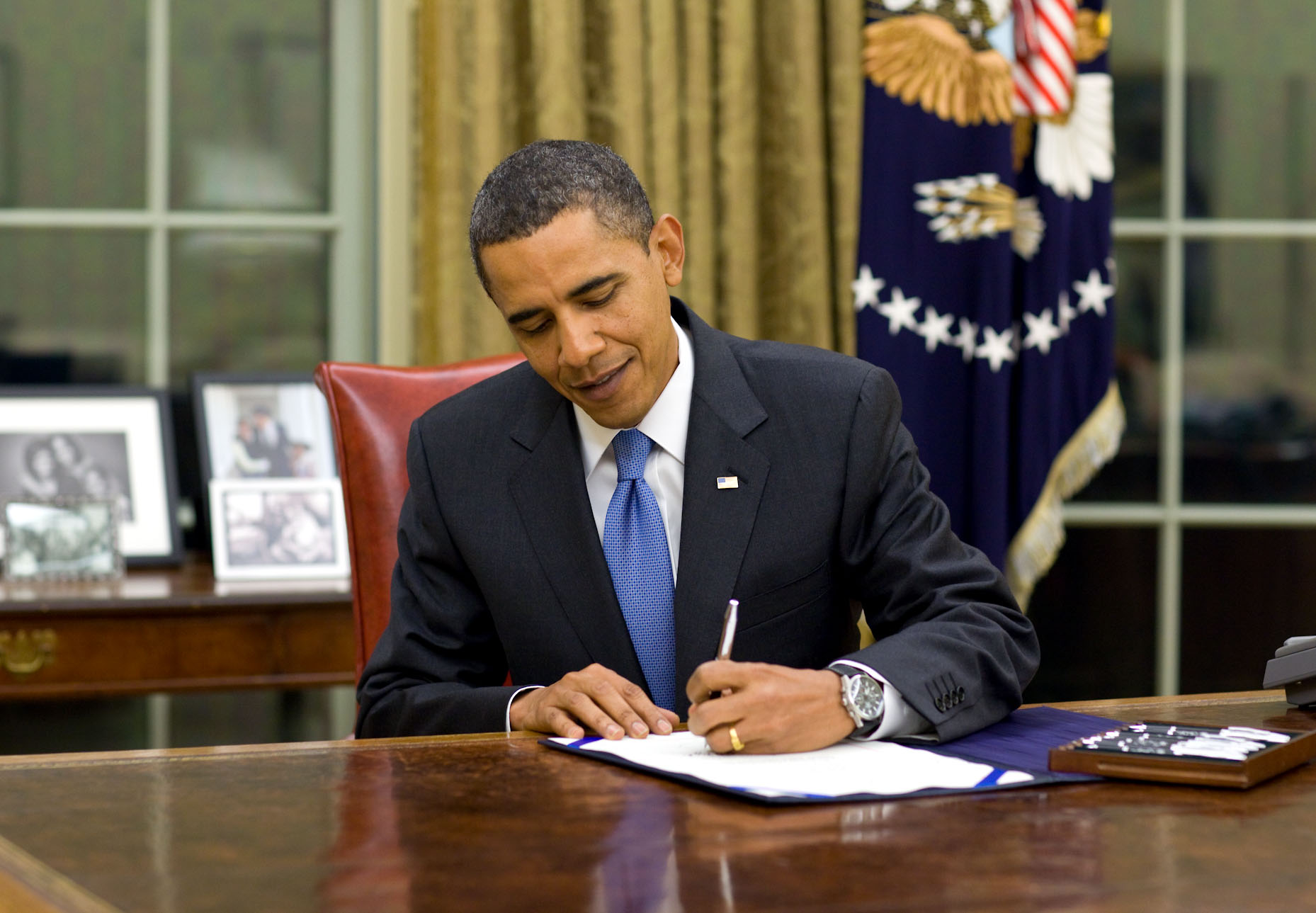 President Obama Signs Legislation Providing Immediate Tax Deductions for Haiti Charitable Contributions