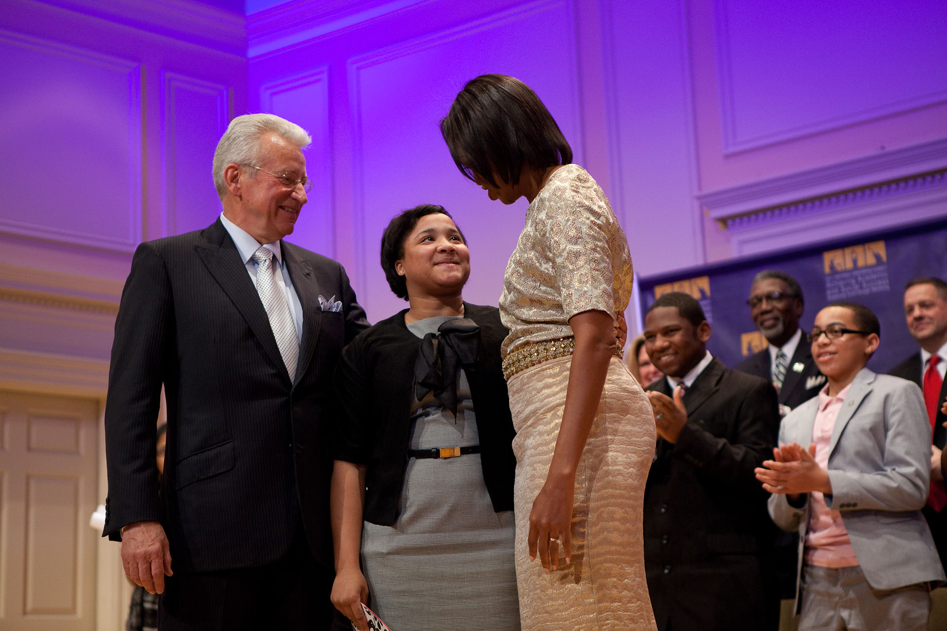 First Lady visit during National Mentoring Summit