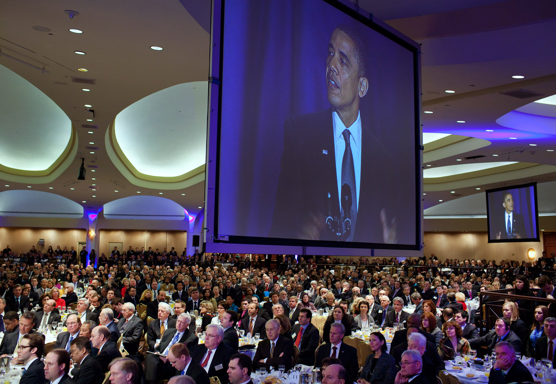 Television Shows President Obama at the National Prayer Breakfast
