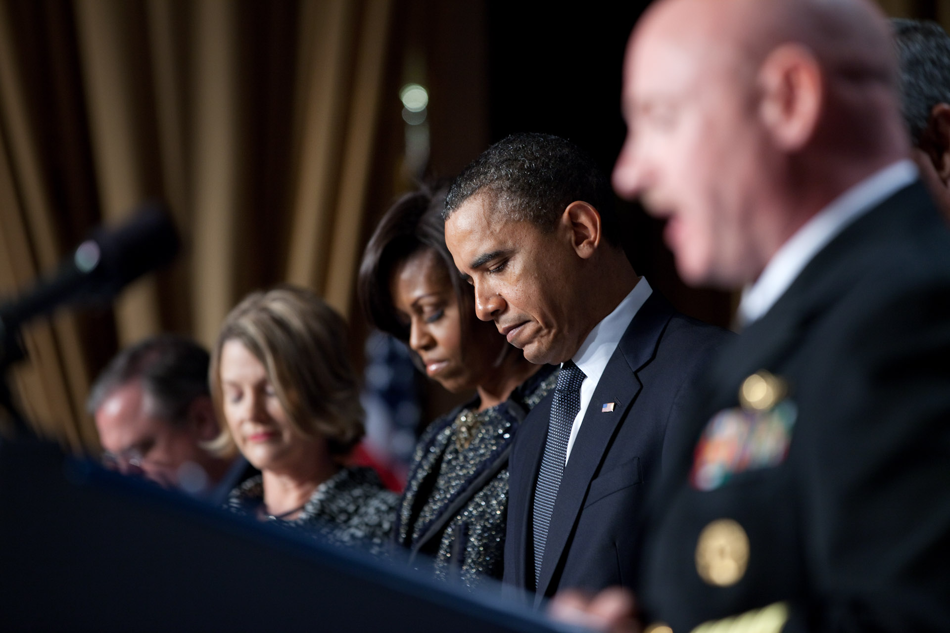 President and First Lady Obama at the National Prayer Breakfast
